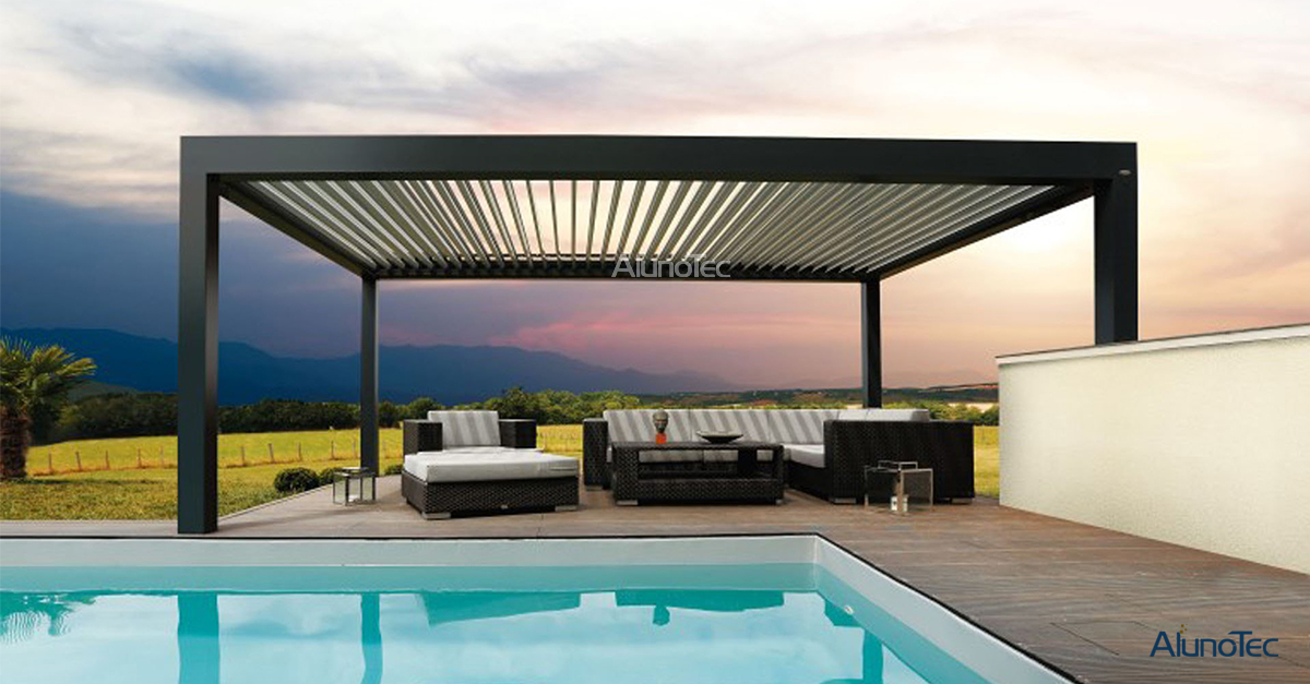 The Advantages Of Aluminum Pergola